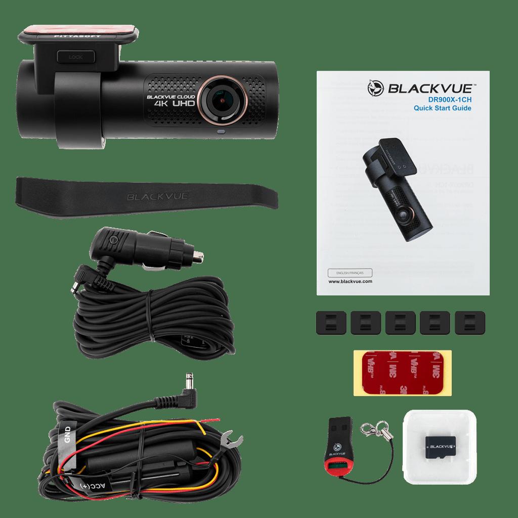 Blackvue DR900X 1 ch - Contenido paquete