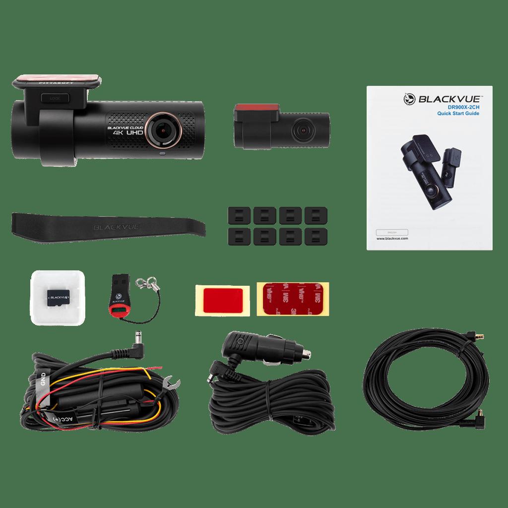 Blackvue DR900X 2 ch - Contenido paquete